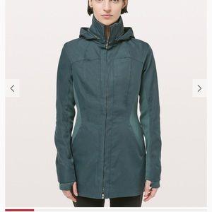 Lululemon Like A Glove Rain Jacket size 2